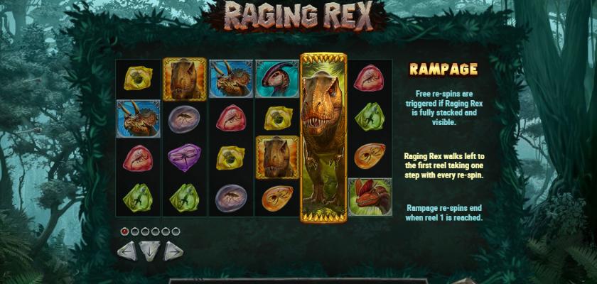 Raging Rex - features